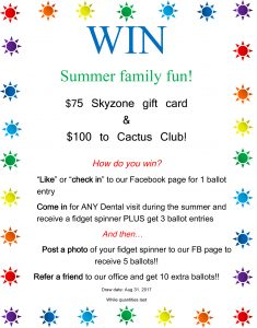 Summer Draw At Guildford Town Centre Dental