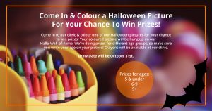 Halloween Hall Of Fame Colouring Contest