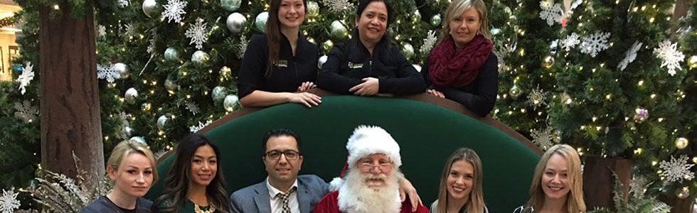 Guildford Town Centre Dental Picture With Santa